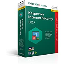 Kaspersky Internet Security 2017 (3 postes, 1 an) Mise à jour