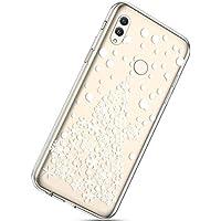 Handytasche Huawei Honor Note 10 Silikonhülle Cover Durchsichtige Handyhülle Silikon Kristall Klar Transparent Schutzhülle Crystal Clear Handycover Dünn Bumper Case Schutz Tasche,Weihnachtsbaum