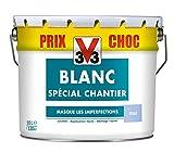 V33 104282 Peinture Blanc spécial chantier Mat