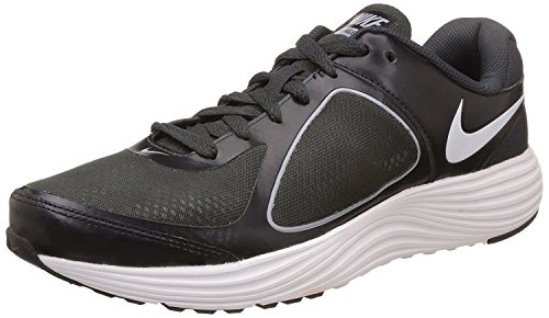 Nike Men's Emerge 3 Black, White, Anthracite and Wolf Grey Running Shoes (704656-006)- 11 UK  available at amazon for Rs.2995