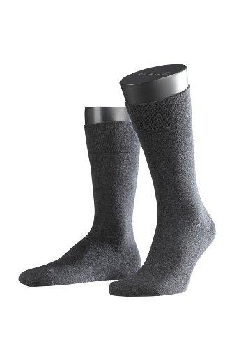 FALKE 14616 3000 Herren Socken, Grau (Anthra. Mel), 47/50