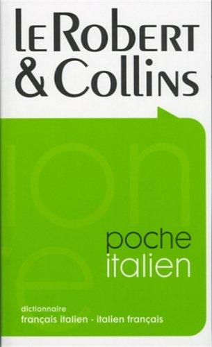 Le Robert & Collins Poche: Dictionnaire Francais Italien-italien Francais