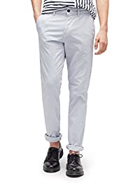 TOM TAILOR DENIM für Männer Pants / Trousers gemusterte Chino