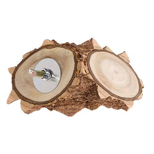 Fuwahahahahahahahahahah, trespolo in legno naturale per pappagalli, criceti, scoiattoli, giochi per animali domestici