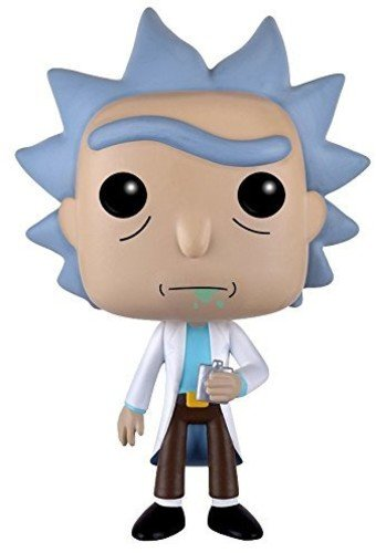 Funko 9015 and S1 No Actionfigur Morty: Rick, Multi, Standard (Marty Mcfly Kostüm T Shirt)
