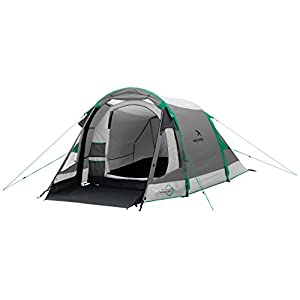 easy camp  tornado 300 unisex outdoor tunnel tent available in grey - 3 persons