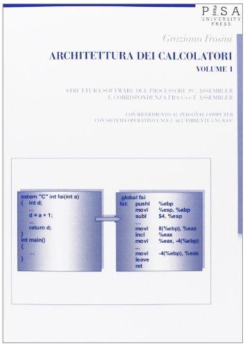 Architettura dei calcolatori: 1