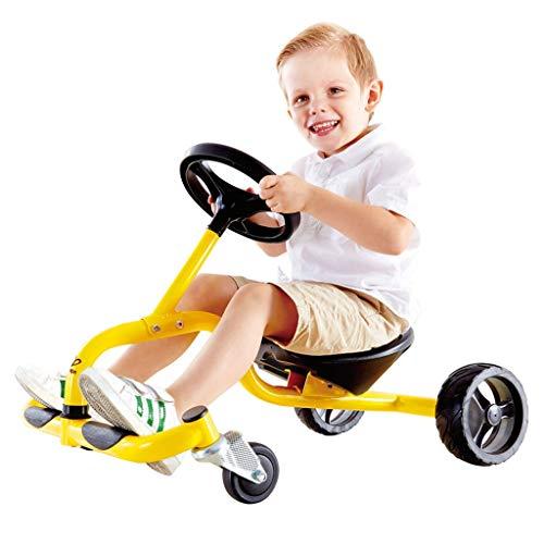 Veicoli a spinta e ruote Tamburo per Bambini Auto Sport Torsione Auto Toddler per Bambini Slide Balance Car Regalo di Capodanno Bicicletta per Bambini Bao Ma Yo Car Camminatore per Bambini
