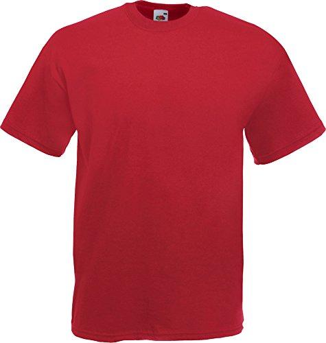 Fruit Of The Loom Herren Kurzarm T-Shirt...