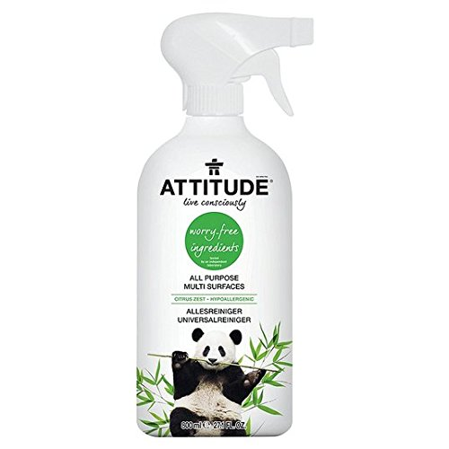 Attitude Multi Surface Cleaner Citrus Zest 800 ml