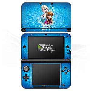 DeinDesign Skin kompatibel mit Nintendo 3 DS XL Aufkleber Sticker Folie Disney Frozen Fanartikel Geschenke