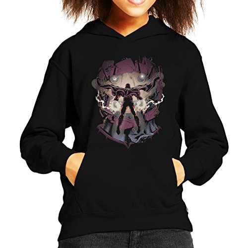 X Men Magneto Magnetic Confrontation Kid's Hooded Sweatshirt