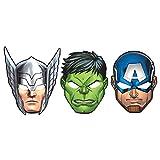 Amscan Avengers Papier Masken