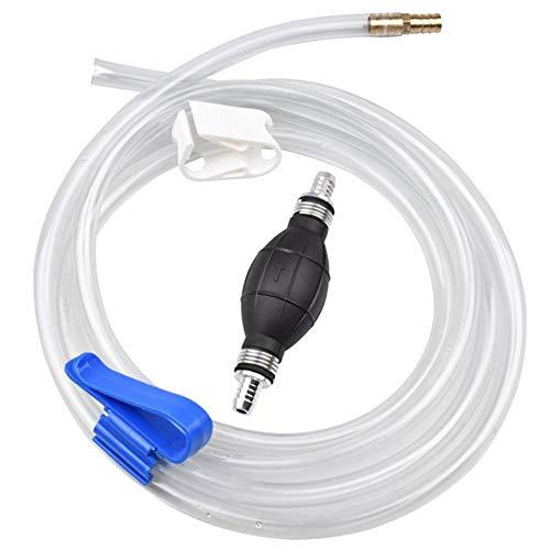 ZXXxxZ Manual Siphon Pump Kit Multifunktionale Kraftstoffförderpumpe Manuelle Saugpumpe Für Kraftfahrzeuge, Regenfässer zu Wassergärten