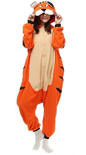 Imagen de dato ropa de dormir pijama tigre de bengala cosplay disfraz animal unisexo adulto