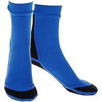 Bota Calcetines Buceo Deportes Acuáticos Natación Buceo Neopreno Calcetines De Natacion para Mujer Hombre - Azul, S