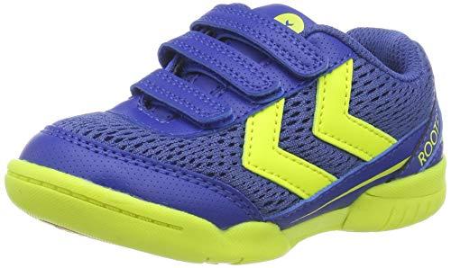 Hummel Root Jr Vc, Zapatillas de Balonmano Unisex Niños, Azul (True Blue 7045), 35 EU
