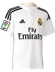 adidas Real Madrid Domicile Replica Maillot Garçon White/Black/Blast Pink
