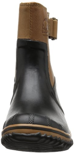 Sorel  SLIMPACK RIDING GLOW, Bottes à enfiler #635 femme Noir - Schwarz (Black, Bronco 010)