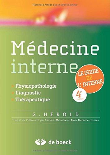 Mdecine interne : Du diagnostique  la thrapeutique