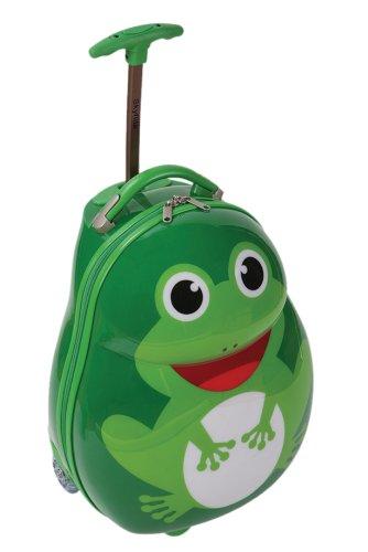 Preisvergleich Produktbild Skyflite Skykidz Frosch Trolley-Koffer und Rucksack für Kinder