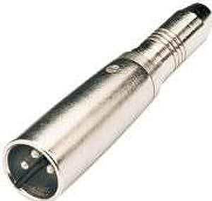 Qtx 6.3 mm Mono Socket XLR Plug