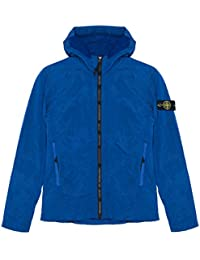 Stone Island Jacket - Spring Summer 2018 Junior Blue Nylon Metal Hooded Jacket – RRP £255 (681640435 V0027)