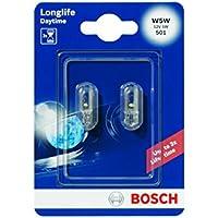 Bosch 1987301052 Longlife - Bombilla W5W para coche