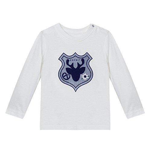 Esprit Kids Baby-Jungen T-Shirt, Weiß (Weiß 110), 80