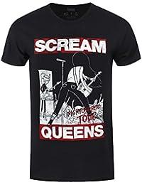 Adventure Time Scream Queens Men's Black T-shirt