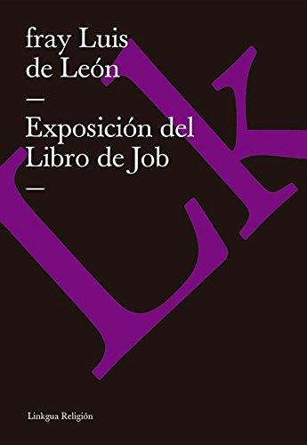 Exposición del Libro de Job (Religion) por Fray Luis de León