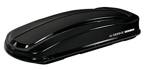 Lampa N60012 ABS BOX da Tetto, Nero Lucido