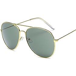 Atdoshop Prämie Voll Mirrored Pilotenbrille Flieger Sonnenbrille UV400 Schutz Optimal Entwurf Herren und Frauen Aviator Sonnenbrillen (B)