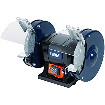 Wolf 6 Quot Dual Stone 150mm Bench Grinder Supplied With