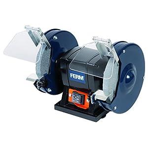 FERM BGM1019 Lijadora de doble muela (150 W, 150 mm, 230 V)