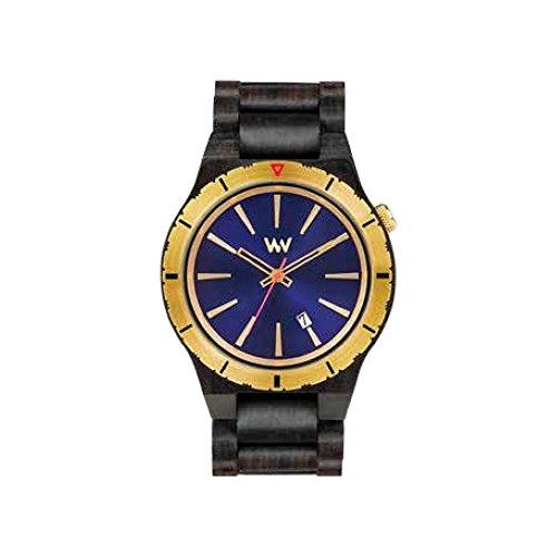 Orologio in legno Wewood Ghiera Acciaio Assunt MB Blue Gold 70365901