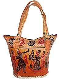 Vira Leather: Stylish Printed Women's Handbag | Bag For Women | Printed Handmade Handbag