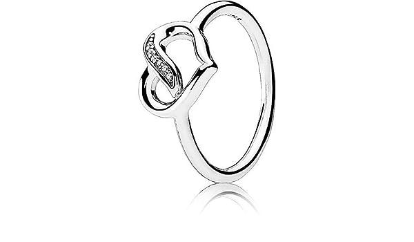anello pandora amore brillante