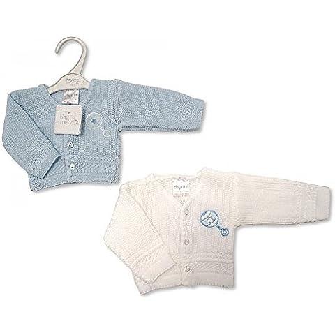 Prematuro Bebé Niño de punto Cardigans Pack de 2