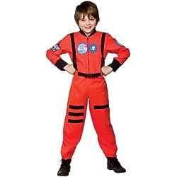 Wicked - Disfraz astronauta misión a Marte SpacePilot para niño, talla L- 134-146cm