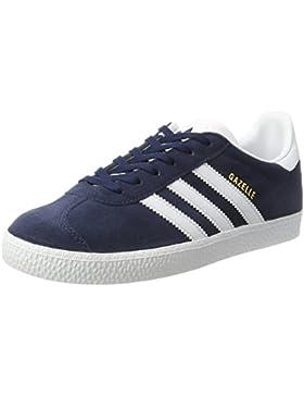 adidas Gazelle J Zapatillas de Deporte, Unisex Infantil, Azul ((Maruni/Ftwbla/Ftwbla)), 38 EU (5.5 UK)
