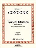LYRICAL STUDIES FOR TRUMPET OR HORN - arrangiert für Trompete [Noten / Sheetmusic] Komponist: CONCONE GIUSEPPE