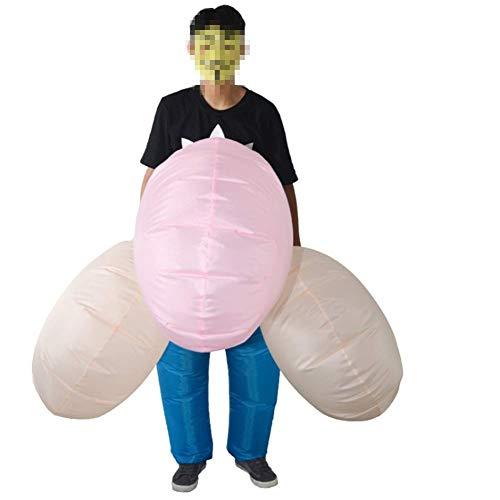 ZXL Halloween Singles Festival Kostüme Adult Bar Nachtclub Atmosphäre Lustige Requisiten Aufblasbare Big Bird Yang (Big Bird Kind Kostüm)