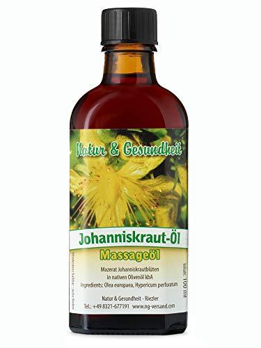 Natur & Gesundheit Johanniskrautöl - 100 ml