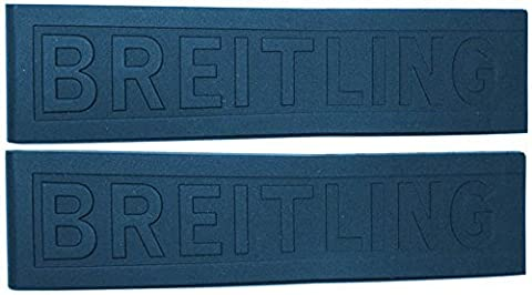 Breitling 22/20mm bleu Bracelet en Caoutchouc Diver Pro III 157S 22/20blubpd