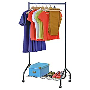 tatkraft dobby heavy duty 5ft clothes rail with shoe rack. Black Bedroom Furniture Sets. Home Design Ideas