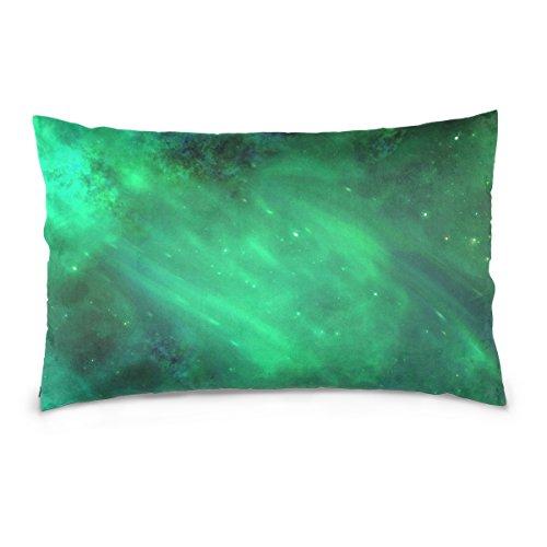 Kissenbezüge, Doppelseitig, Space All Universe Cosmos Galaxy Star Hintergrund, bunt, 40,6 x 61 cm, Unsichtbarer Reißverschluss, Heimdekoration für Couchbett 16 x 24 inches Image86192 -