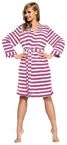 L&L Femmes Robe de Chambre Brenda Cerise