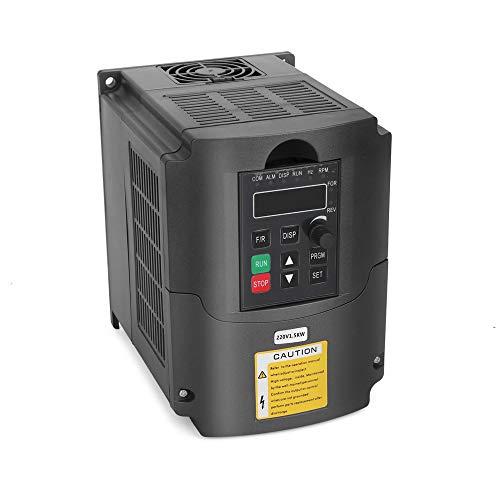 VFD 220V 1.5KW 3hp Variador de frecuencia variable, craftsman168 CNC V