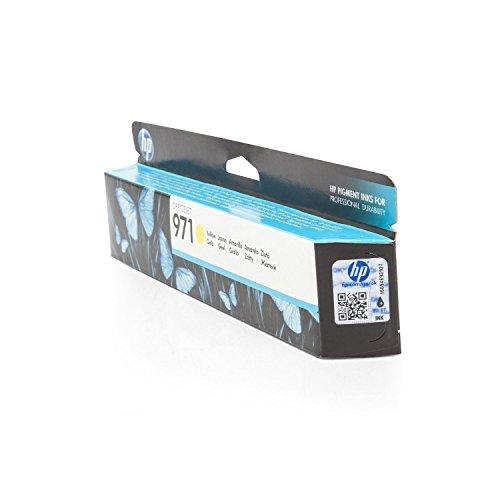 1x Cartouche d'encre HP CN624AE HP 971d'origine pour HP Officejet Pro X 576DW–Jaune–Puissance: env. 2500pages